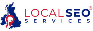 local SEO services logo for signature with trademark 300x101